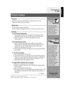 Picture Posters Lesson Plan