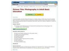 Picture This: Photography in Adult Basic Education Lesson Plan