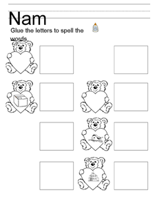 Picture-Word Match Worksheet