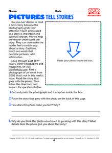 Pictures Tell Stories Lesson Plan