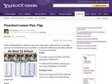 Pigs Lesson Plan
