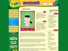 Pirate Poems Lesson Plan