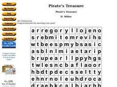 Pirate's Treasure Worksheet