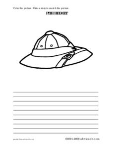 Pith Helmet Story Worksheet