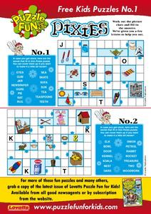 Pixies Puzzles Worksheet
