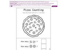 Pizza Counting Worksheet