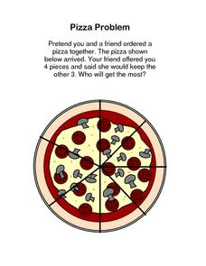 Pizza Problem Lesson Plan