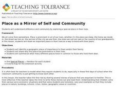 Place as a Mirror of Self and community Lesson Plan