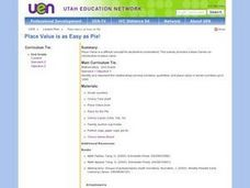 Place Value is as Easy as Pie Lesson Plan