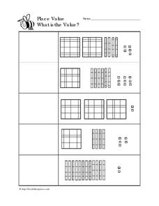 Place Value, Version 1 Worksheet