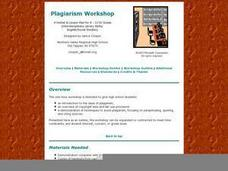 Plagiarism Workshop Lesson Plan