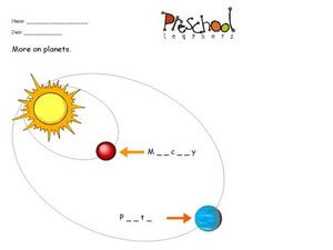Planet Words Worksheet