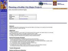 Planning a Healthy City Lesson Plan