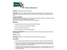 Plant Collection II Lesson Plan