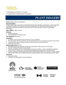 PLANT IMAGERY Lesson Plan
