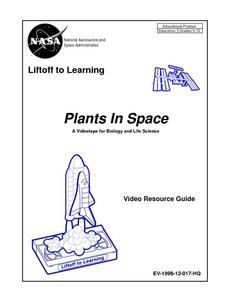 Plants In Space Worksheet