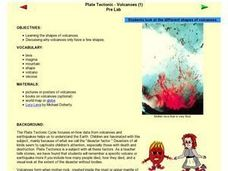 Plate Tectonic - Volcanoes (1) Lesson Plan