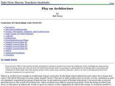 Play on Architecture Lesson Plan