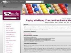 Playing with Money (From the Other Point of View) Lesson Plan