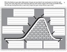 Printables Worksheets On Plot plot rollercoaster 5th 9th grade worksheet lesson planet worksheet