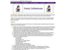 Poetry Coffeehouse Lesson Plan