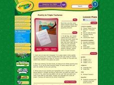 Poetry in Triple Textures Lesson Plan