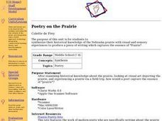 Poetry on the Prairie Lesson Plan