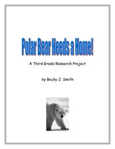 Polar Bear Needs a Home! Lesson Plan
