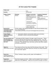 Polar Biomes Lesson Plan