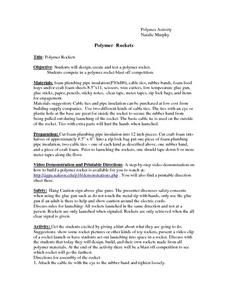 Polymer Rockets Lesson Plan