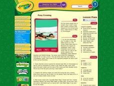 Pony Crossing Lesson Plan