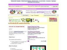 Pop Art Ice Cream Painting Lesson Plan