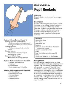 Pop Rockets Lesson Plan