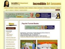 Pop-Up Pop Art, Tunnel book Lesson Plan