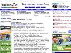 Popcorn Action Lesson Plan