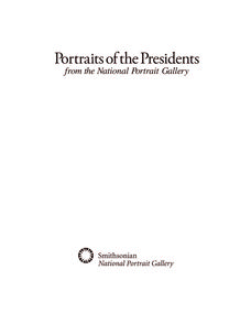 Portraits of the Presidents Lesson Plan