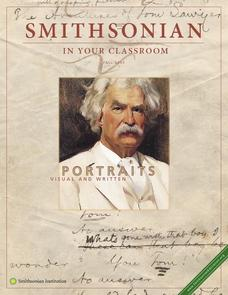 Portraits Visual and Written:  Louisa May Alcott and Samuel Clemens Lesson Plan