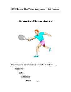 Poster Assignment: Sports Chemistry Lesson Plan