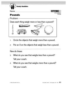 Pounds Lesson Plan