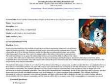 Power and the Communication of Values in West African Art of the Past and Present Lesson Plan