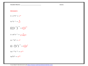 Worksheets Powers And Exponents Worksheet power and exponents worksheet sharebrowse delibertad