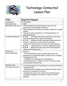 Powerful Polygons Lesson Plan