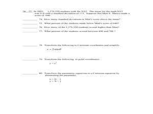 precalculus exam 11th 12th grade worksheet lesson planet. Black Bedroom Furniture Sets. Home Design Ideas