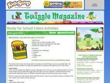 Preschool Color Fun and Activities Activities & Project