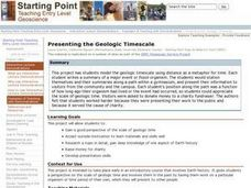 Presenting the Geologic Timescale Lesson Plan