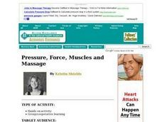 Pressure, Force, Muscles and Massage Lesson Plan