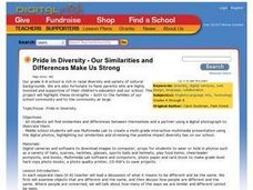 Pride in Diversity - Our Similarities and Differences Make Us Strong Lesson Plan