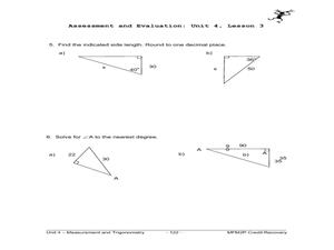 Printables Trigonometric Ratios Worksheet primary trig ratios 9th 12th grade worksheet lesson planet worksheet