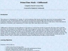 PrimeTime Math: Cliffbound! Lesson Plan