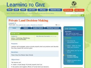 Private Land Decision-Making Lesson Plan